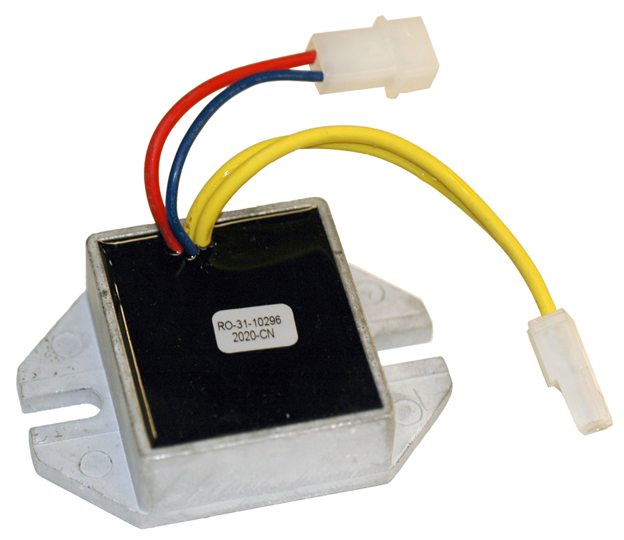 Voltage regulator for briggs and stratton 493219 for Chambre a air tracteur tondeuse